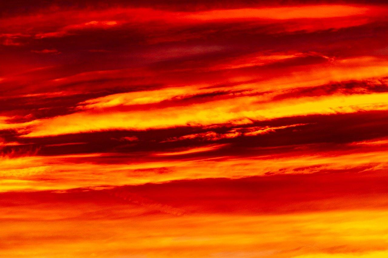 sunset, background, mood